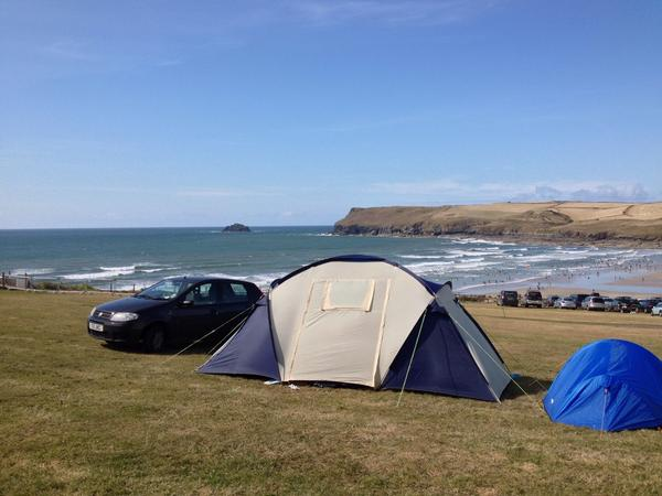 Tristram Cool Camping Park in Polzeath Corrnwall