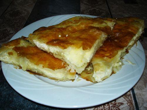 Börek (Burek) Famous Serbian Baked Breakfast Dish