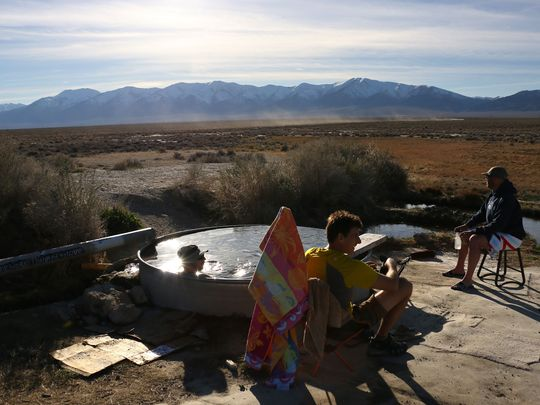 Best Monitor Valley Potts Hot Springs in Nevada