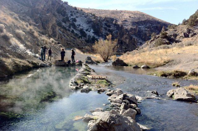 Bishop Creek or 12-mile Hot Springs in Nevada