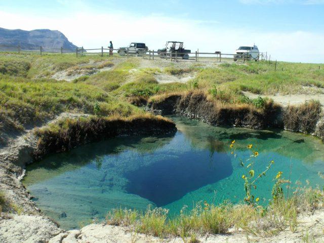 Black Rock Hot Natural Springs in Nevada