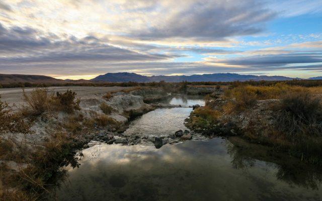 Bog Hot Spring in Nevada