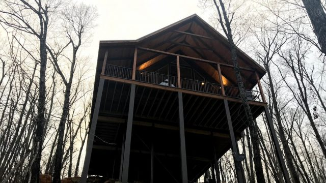 Buffalo River Vacations Treehouse Lodging in Arkansas