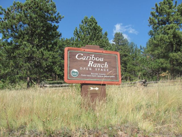Caribou Ghost Town in Colorado