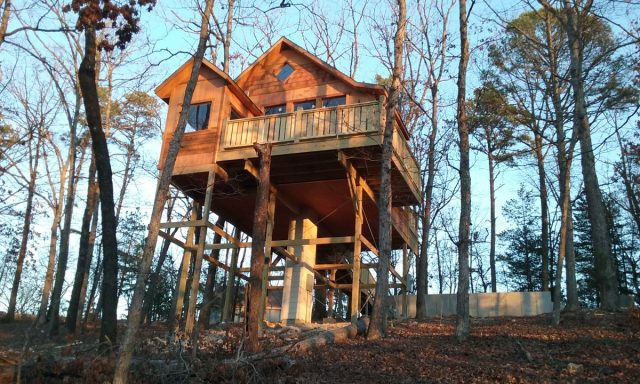 Enchanted Treehouse Cottages in Arkansas
