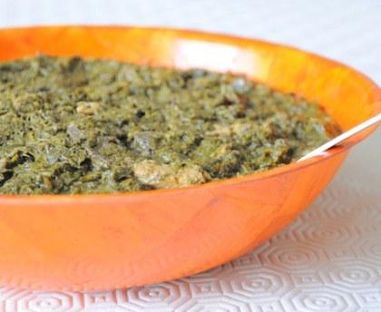 Fumbwa Congolese Food