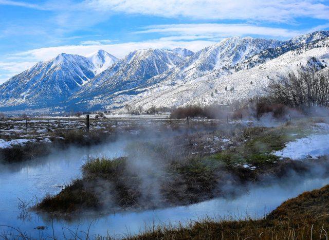 Hot Springs in Nevada