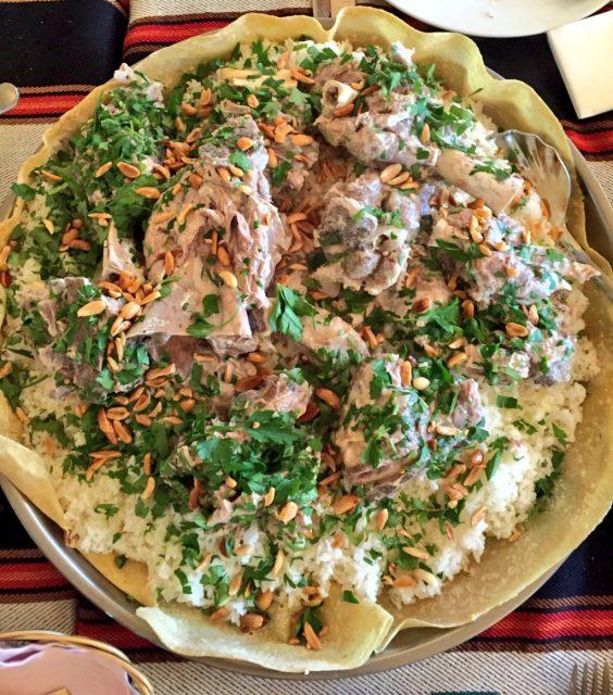 Mansaf Jordanian Foods