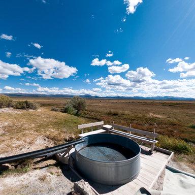 Monitor Valley Potts Hot Springs Nevada