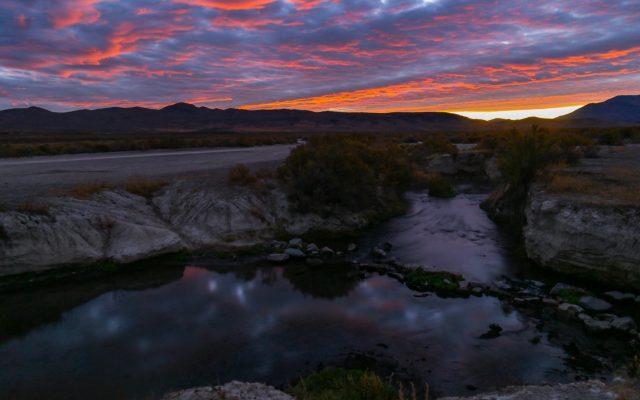 Natural Bog Hot Spring in Nevada