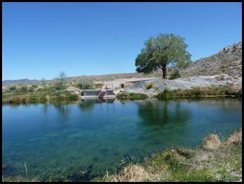 Natural Panaca Hot Springs in Nevada