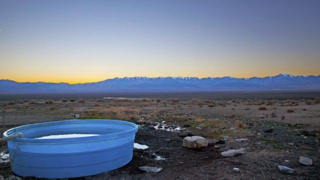 Natural Smith Creek Valley Hot Springs in Nevada