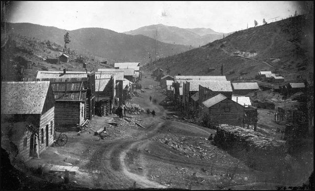Nevadaville Colorado Ghost Towns