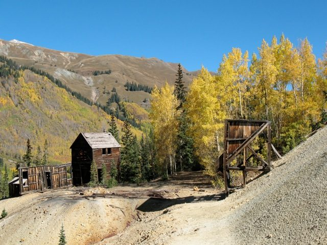 Red Mountain Ghost Town Colorado
