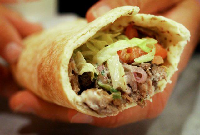 Shawarma Jordanian Food