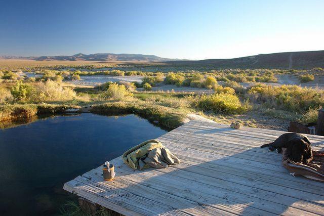 Spencer Natural Hot Springs in Nevada
