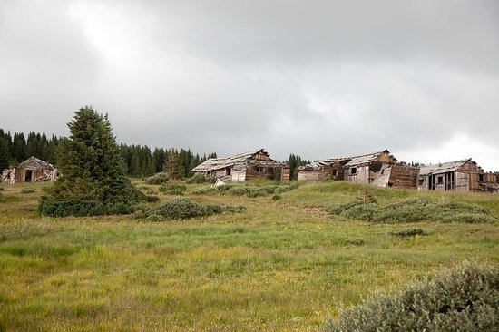 Summitville Ghost Town Colorado