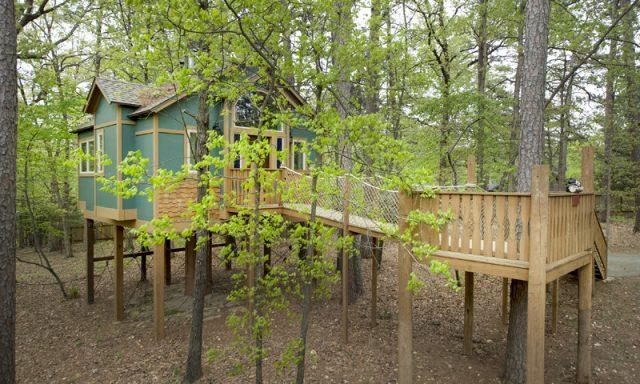 The Grand Treehouse Resort in Arkansas