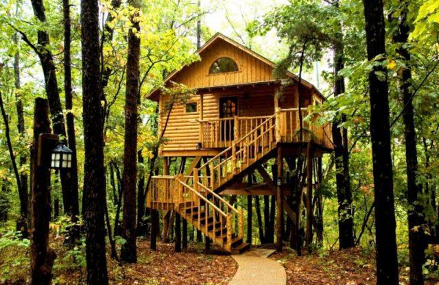 Tree Houses in Arkansas
