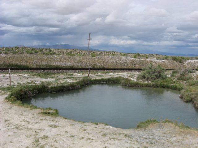 Trego Hot Springs in Nevada