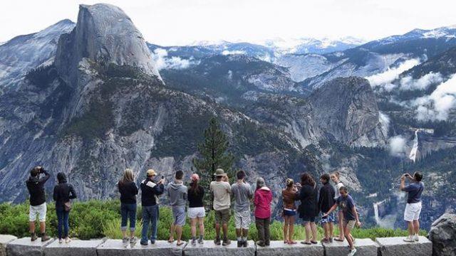 Glacier Point Trail Yosemite West Hiking Trail