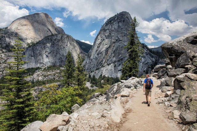 John Muir Yosemite Hiking Trail Mariposa California