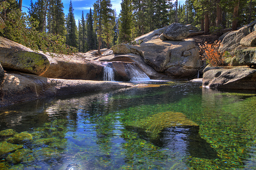 Tuolumne Meadows CA Yosemite Hiking Trail