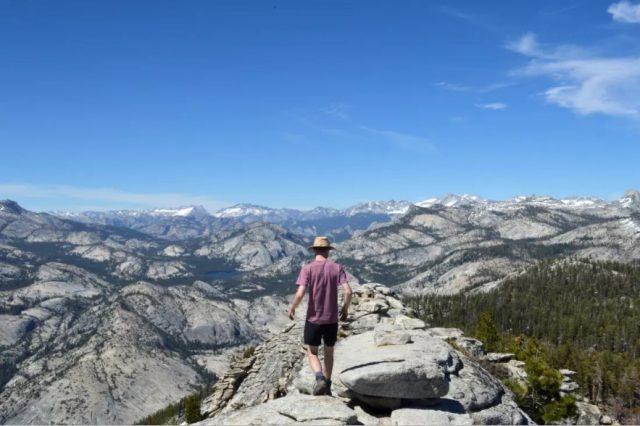 Yosemite Hiking Trail John Muir Mariposa California