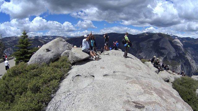 Yosemite West Hiking Trail Glacier Point CA