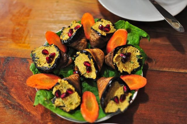 Badrijani Georgian Food