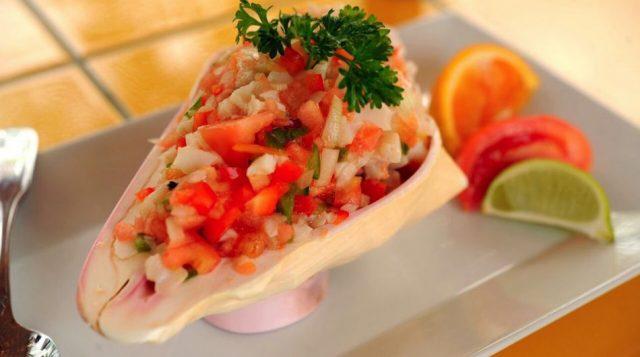 Conch Salad Bahamian Food