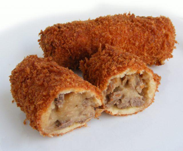 Dutch Croquette Authentic Fry Dish Dutch Foods
