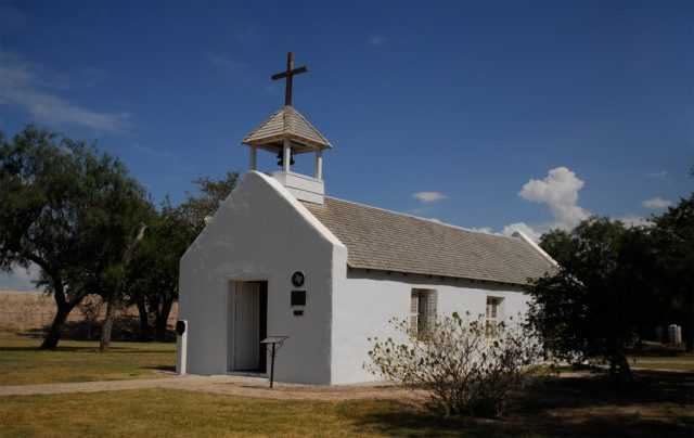 La Lomita Chapel Haunted Places in Mission Texas