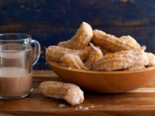 Mexican Dessert Churros Crispy Sweet Fritters