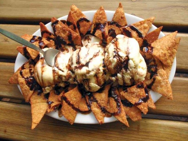 Nachos Authentic Cinnamon & Chocolate Mexican Dessert
