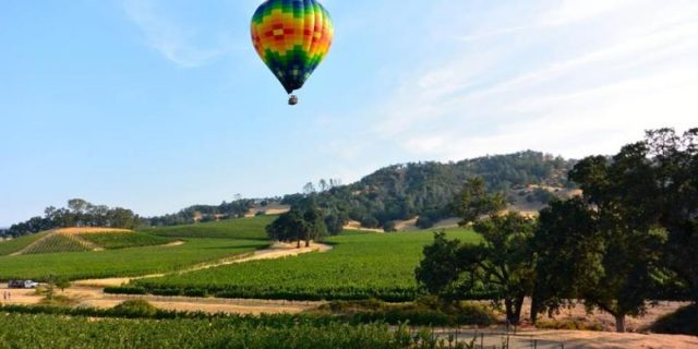 Napa Valley Hot Air Balloon San Francisco Family Weekend Trips