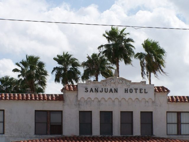 San Juan Hotel Haunted Hotels in Texas