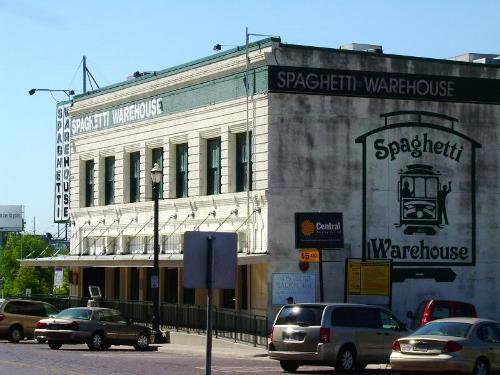 Spaghetti Warehouse Haunted Places in Houston Texas