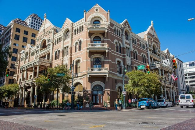 The Driskill Hotel Haunted Places in Austin Texas