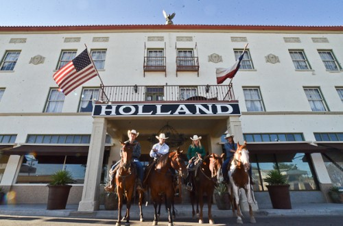 The Holland Hotel Haunted Places in Texas