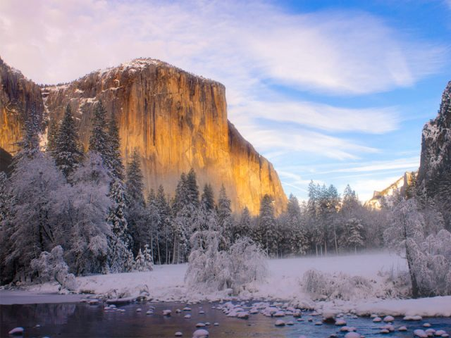 Yosemite Ice Skating Rink Winter Weekend Trips From San Francisco
