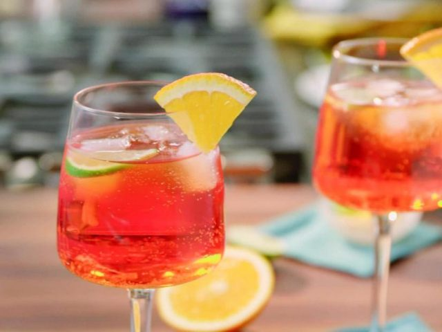 Aperol Spritz Brunch Cocktail