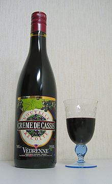 Cassis Japanese Drink