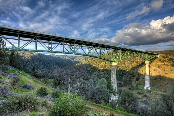 Forestholl Bridge Tallest in USA
