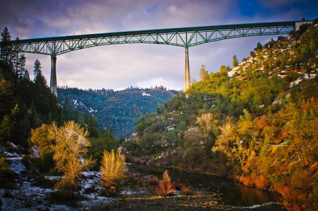 Forestholl Bridge Tallest in the United States