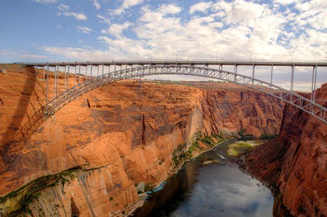 Glen Canyon Dam Bridge Tallest in USA
