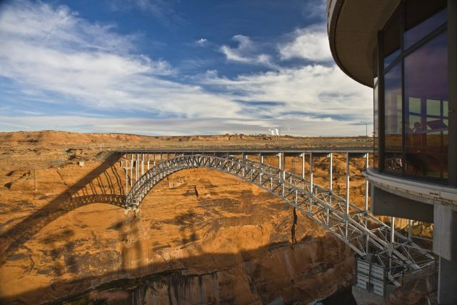Glen Canyon Dam Bridge Tallest in the United States