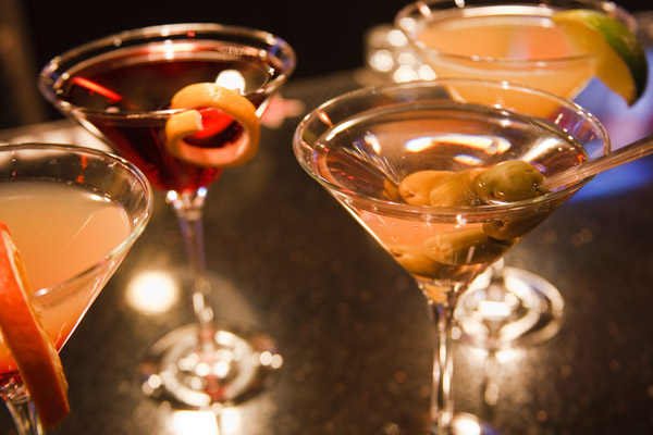 Italian Martini Traditional Drink