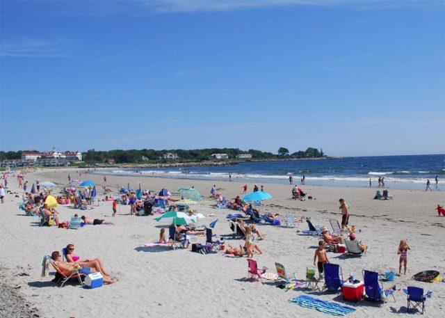 Kennebunk Beach Maine