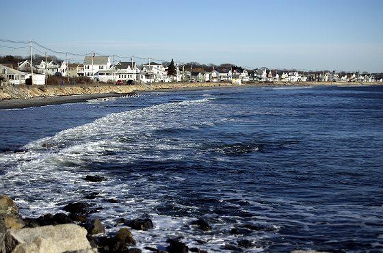 Long Sands Beach of Maine